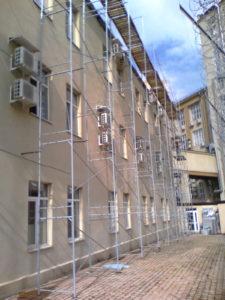Что удешевляет (уменьшает цену) монтажа строительных лесов