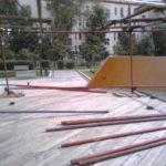 Монтаж конструции из хомутовых лесов (4)