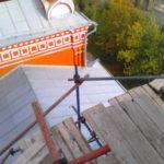 Монтаж хомутовых лесов Спасская Церковь (14)