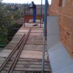 Монтаж хомутовых лесов Спасская Церковь