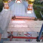 Монтаж хомутовых лесов Спасская Церковь (17)
