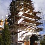 Монтаж хомутовых лесов Спасская Церковь (23)