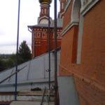 Монтаж хомутовых лесов Спасская Церковь (4)