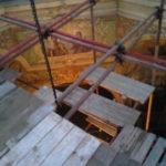 Фото монтаж лесов Церковь Иконы Божией Матери