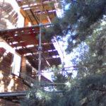 Фото монтаж хомутовых лесов частный дом на Рублевке